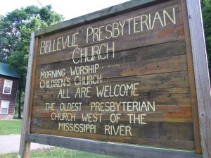 Bellevue Presbyterian Church, photo by smalltowngirl