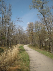 St. Joe State Park Bicycle Trail, photo by smalltowngirl