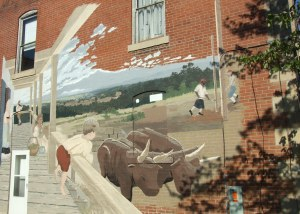 Ste. Gen Mural, photo by smalltowngirl